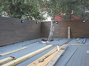 Decking in progress 051017