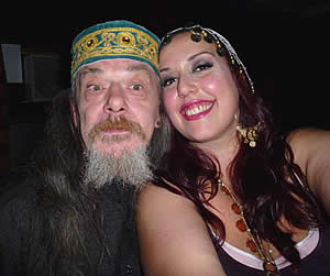 Nina and wizard Al