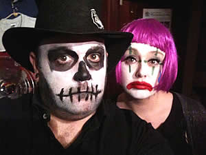 The scariest couple in town.  No really !!